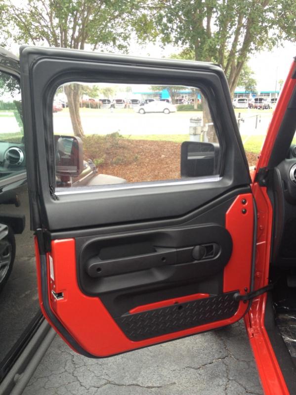 Rugged Ridge Half Doors Amp Uppers Review Jeep Wrangler Forum
