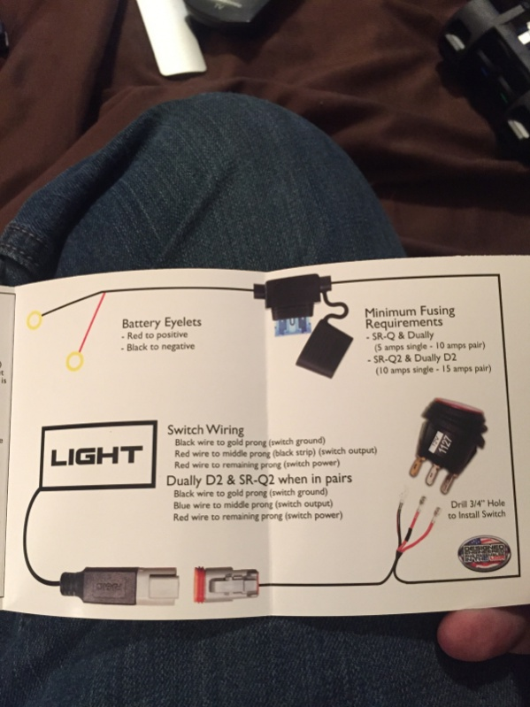 [DIAGRAM_3ER]  Help with wiring rocker switch in place of my Rigid Industries LED switch |  Jeep Wrangler Forum | Rigid Wiring Diagram |  | Jeep Wrangler Forum
