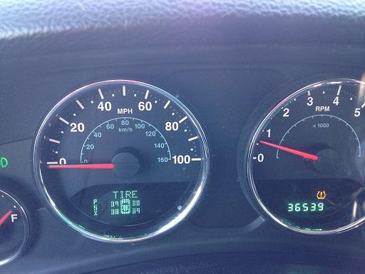 tpms light   sensors show  jeep wrangler forum