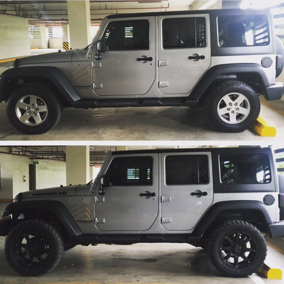 20 Inch Rims 2 Inch Lift Setup Jeep Wrangler Forum