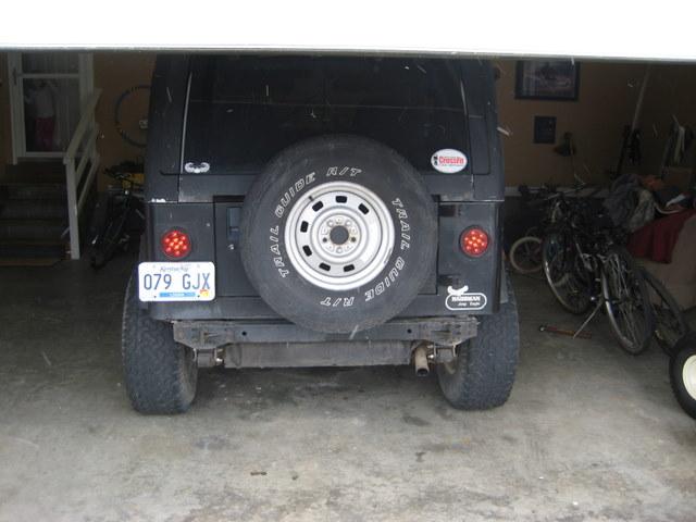 Sahara Lexington Ky >> What I did to my YJ today - Jeep Wrangler Forum
