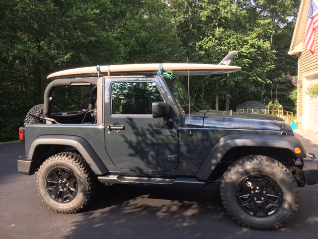 Inexpensive Roof Rack For Paddleboard Jeep Wrangler Forum