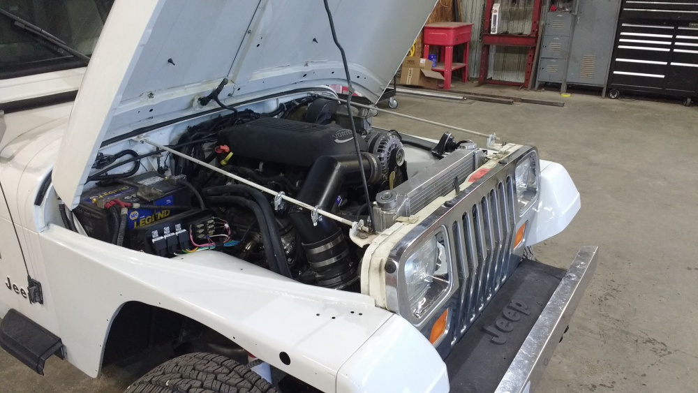 93 Huntsman Build - 5 3L Swap - Page 2 - Jeep Wrangler Forum