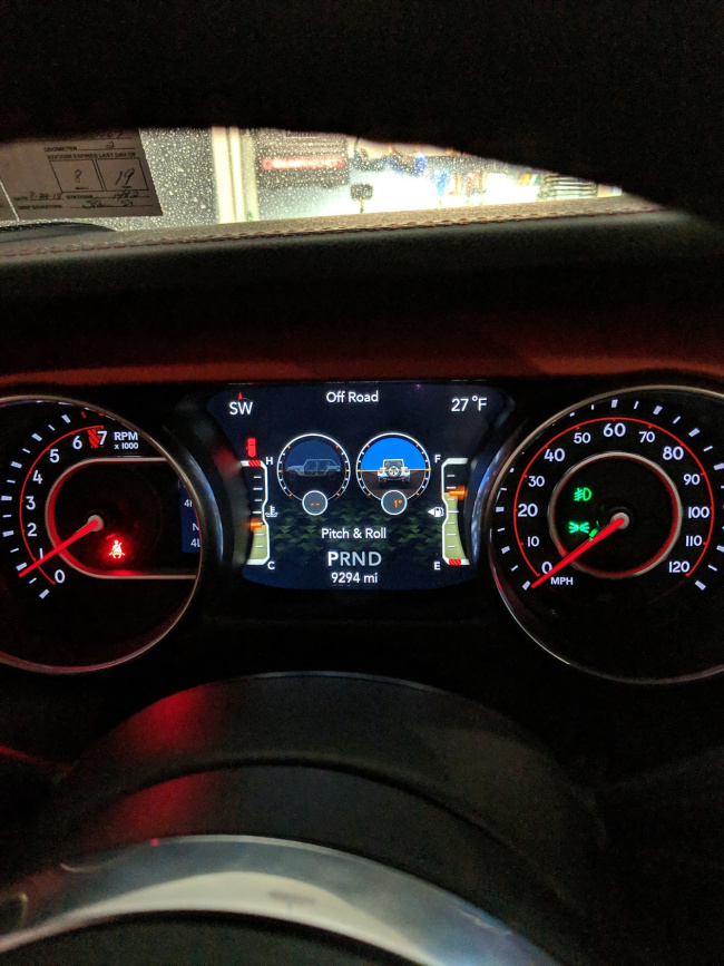 Inclinometer? - Jeep Wrangler Forum