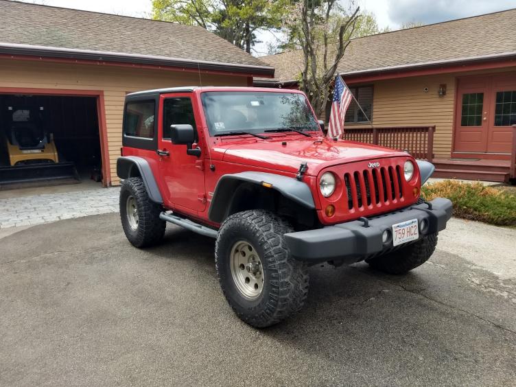 Massachusetts 2012 Jk Sport 2 Door Jeep Wrangler Forum