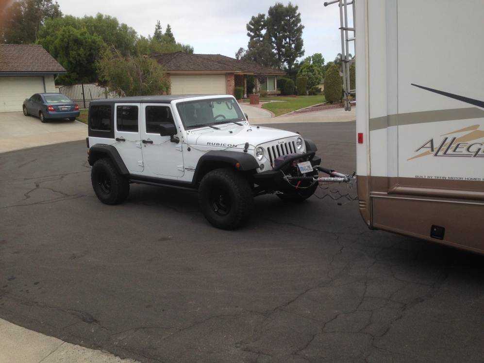 Jeep Wranger flat tow plan, thougths? - Page 2 - Jeep ... on