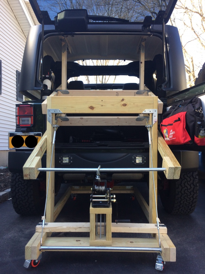 Building My Hardtop Lift Jeep Wrangler Forum