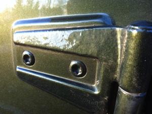 Jk Door Hinges Rusting Pitting Jeep Wrangler Forum