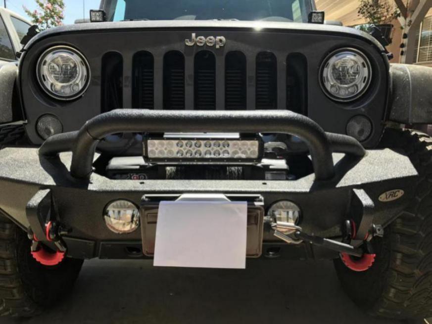 Light Bar For A Smittybilt Xrc G2 Front Bumper Jeep