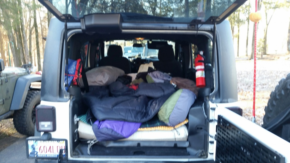 Cold Camping In Jku Jeep Wrangler Forum