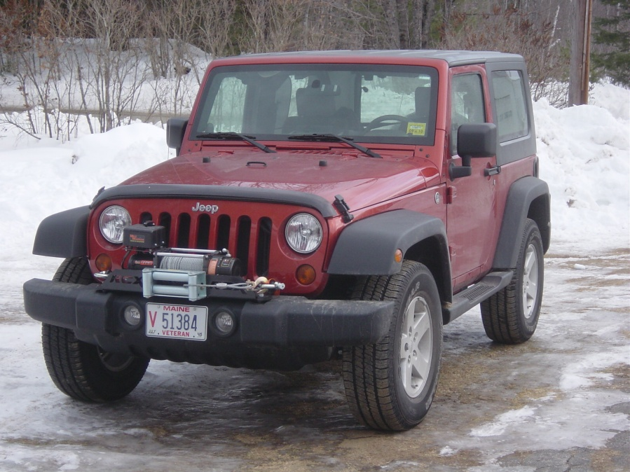 Front License Plate Jeep Wrangler Forum