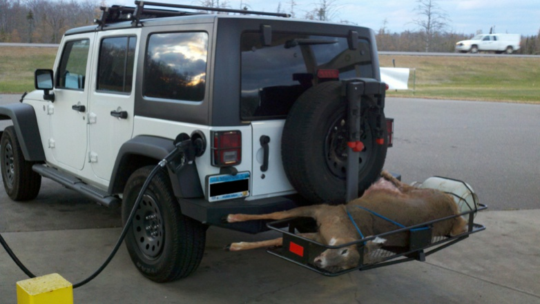 Hunters How Do You Carry Your Deer Jeep Wrangler Forum