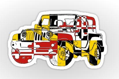 Name:  Jeepmarylandflagsnip.JPG Views: 244 Size:  31.5 KB