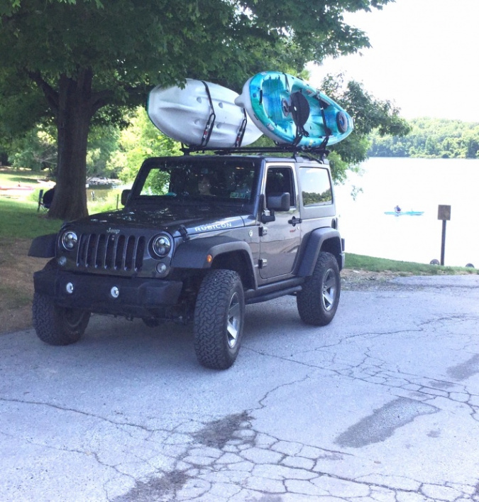 kayak carrier for jk 2 door jeep