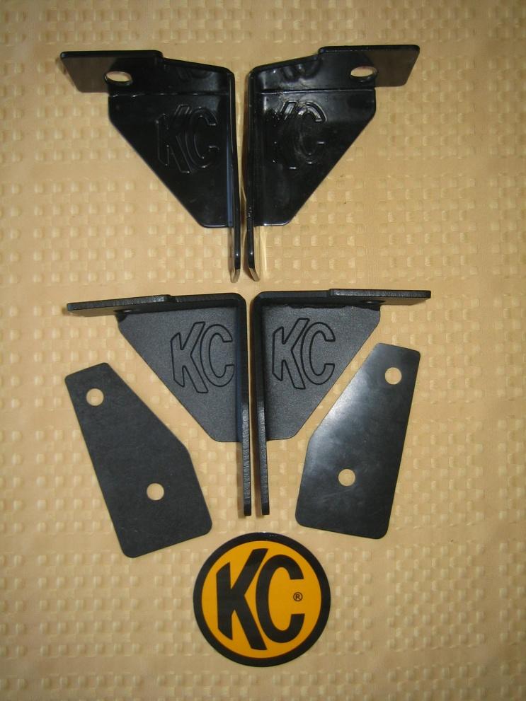 Click image for larger version  Name:KC HiLites JK A pillar brackets (5).jpg Views:2628 Size:220.2 KB ID:625041