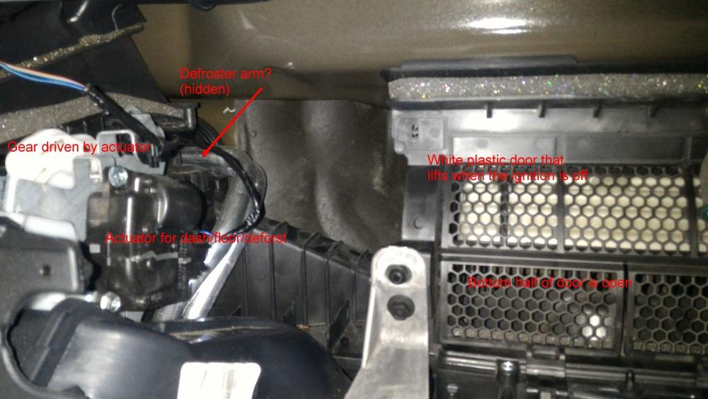 No heat  Where is the blend door? 2014 JKU - Jeep Wrangler Forum