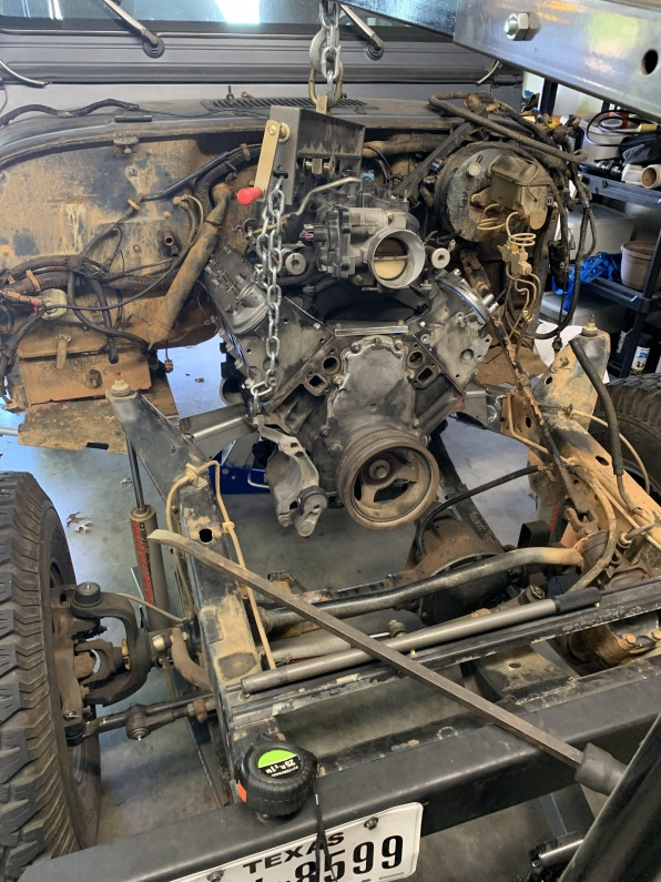 Click image for larger version  Name:LS engine in Jeep, Front.jpg Views:89 Size:239.7 KB ID:4109001