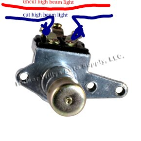 high beam floor switch wiring high image wiring foot dimmer jeep wrangler forum on high beam floor switch wiring