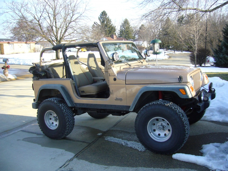 1st time going naked - Jeep Wrangler Forum