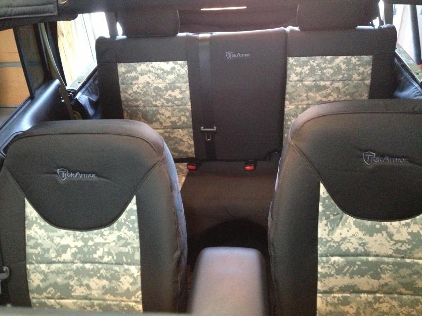 jeep jk seat covers trek armor