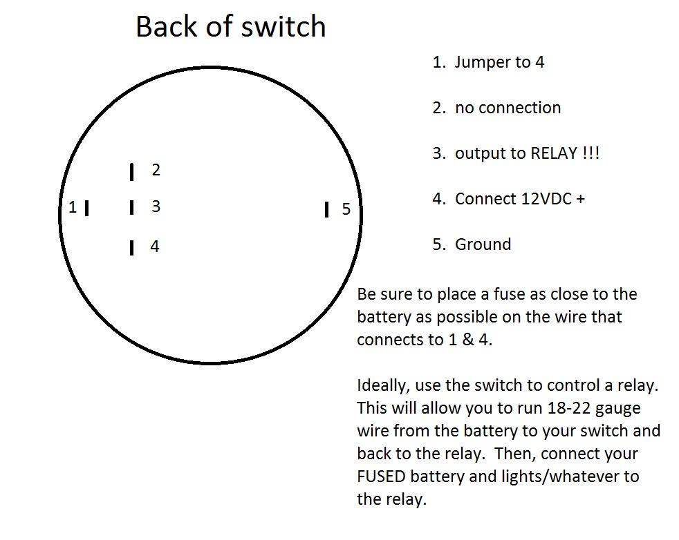 Bulgin/Plasma glow switch wiring help - Jeep Wrangler Forum on gm light switch wiring diagram, ac light switch wiring diagram, reverse light switch wiring diagram, car light switch wiring diagram, kc light wire diagram, off-road light switch wiring diagram, jd light switch wiring diagram,