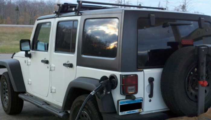 Are The Hard Top Gutters Strong Enough To Support A Roof Rack Jeep Wrangler Forum