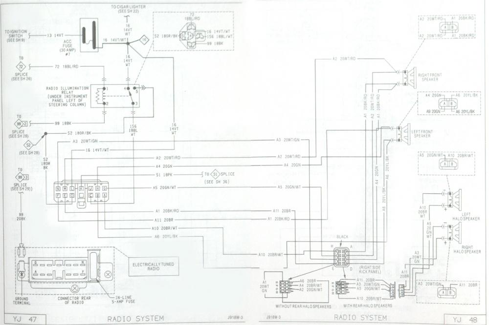 91 Jeep Wrangler Wiring Diagram