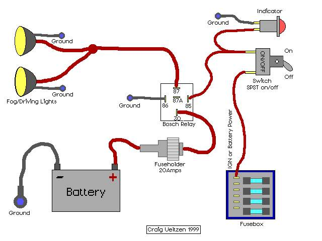 relay wiring diagram for driving lights wiring diagram how to wire fog and driving lights harness wiring diagram