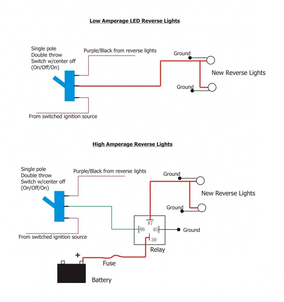 led reverse light wiring questions jeep wrangler forum. Black Bedroom Furniture Sets. Home Design Ideas