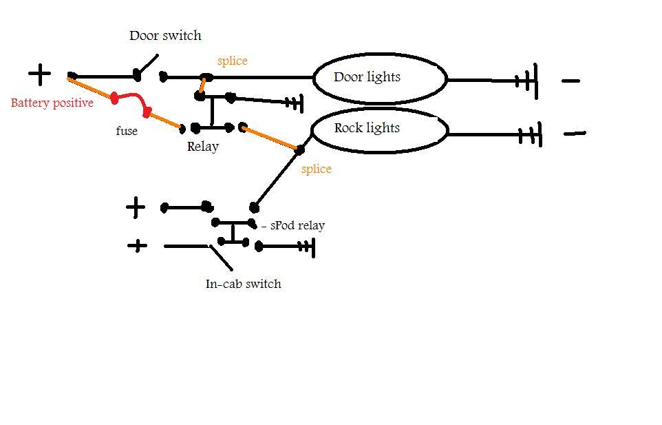 Wiring Manual PDF: 12v Led Rock Light Wiring Diagram