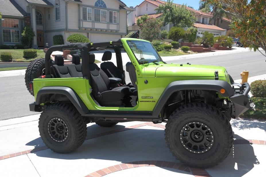 13 Gecko Green JK Sport Build Thread! - Jeep Wrangler Forum