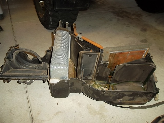 Cleaning Off Heater Core Jeep Wrangler Forum