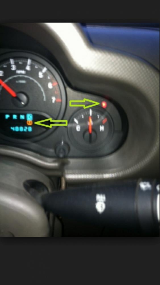 Blinking red light?? - Jeep Wrangler Forum