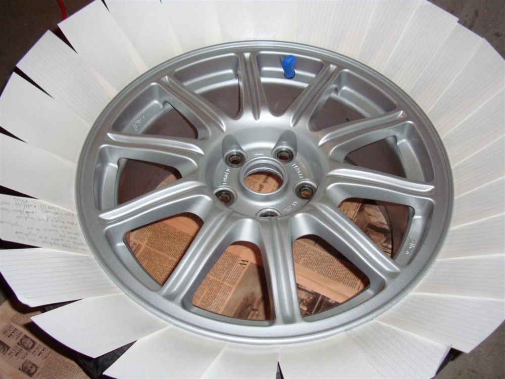 Painting Wheels Duplicolor Or Wurth Jeep Wrangler Forum