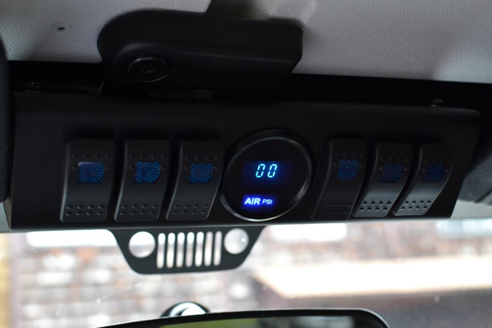 SPOD and switching button face plates? - Jeep Wrangler Forum