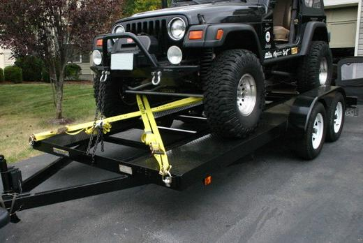 Car Hauler With Winch Rental