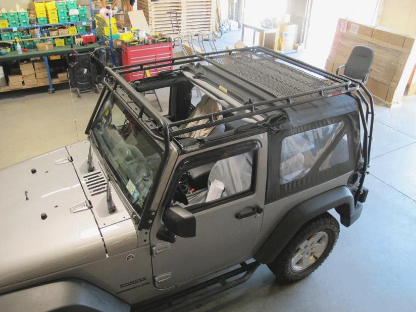 Gobi Roof Rack For Jk 4 Door Jeep Wrangler Forum