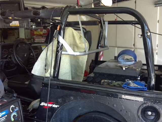 Bad Idea to Mount 5Pt Lap Harness??? - Jeep Wrangler Forum