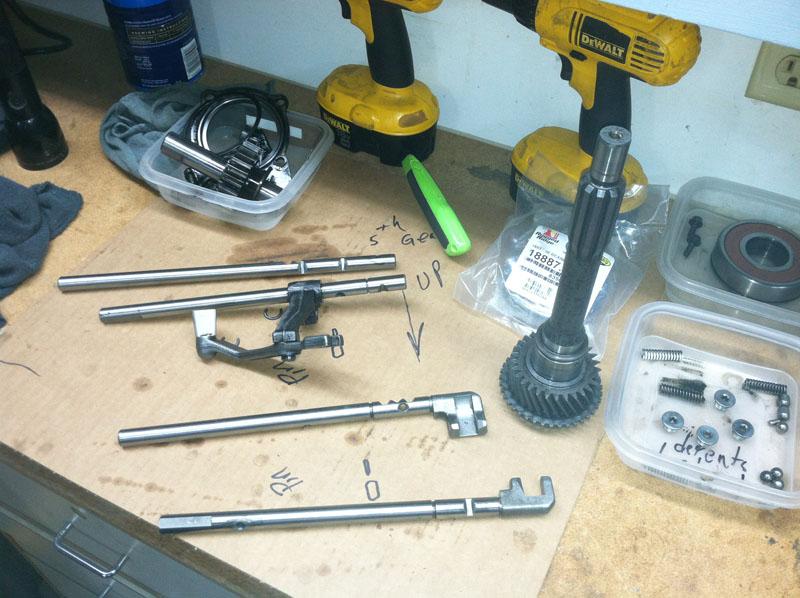 AX5 rebuild question  - Jeep Wrangler Forum