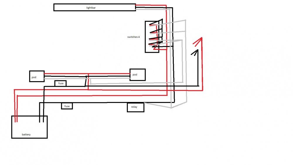 Wiring Schematic Rigid Lights. Fog Lights Wiring, Trailer ... on