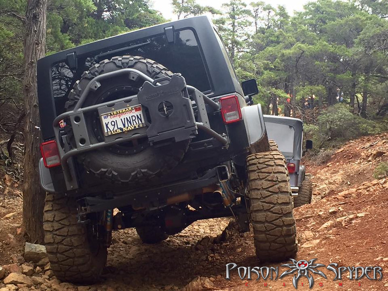 Evo Pro Series Hinged Gate Carrier Vs Rugged Ridge Jeep
