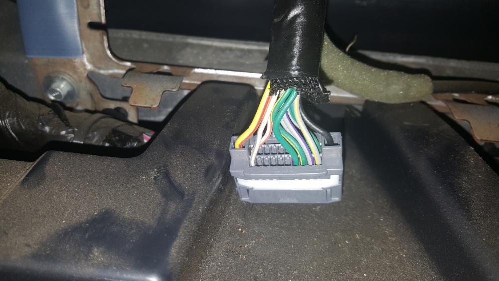 2009 Jeep Wrangler Radio Wiring Harnes Adapter