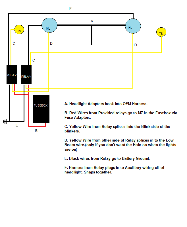 sunpie led headlight help - page 2 - jeep wrangler forum led projector headlights wiring diagram