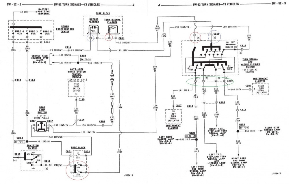 Jeep Wrangler Jk Turn Signal Wiring Diagram