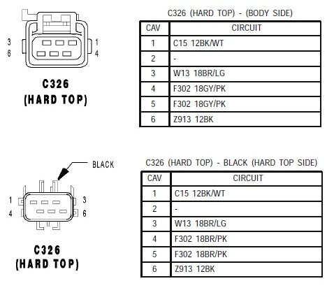 issue with hardtop wiring | jeep wrangler forum  jeep wrangler forum