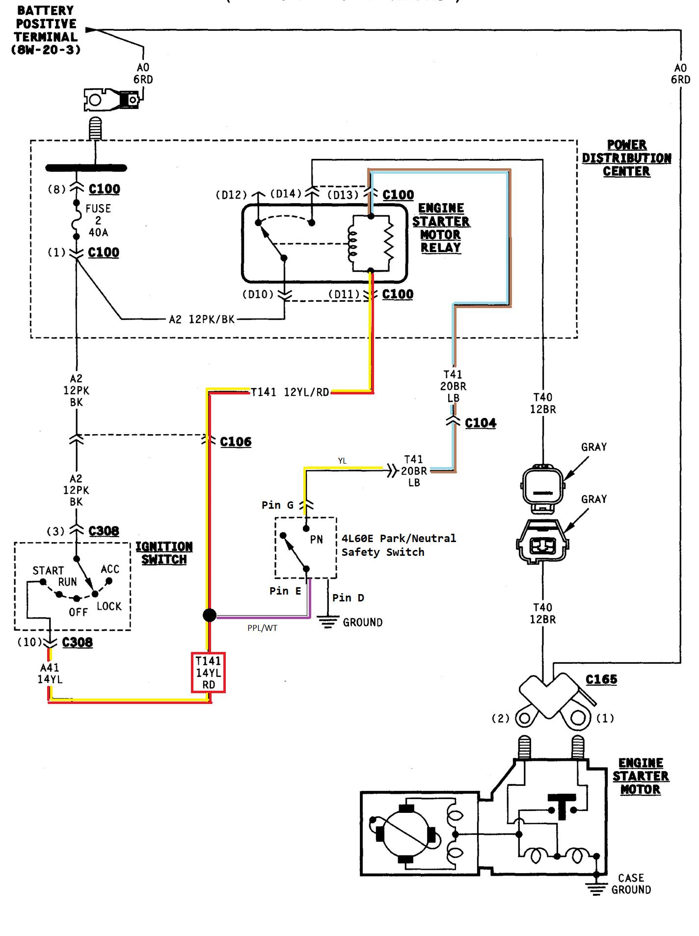 Park Neutral Safety Switch Wiring