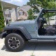 Outside Full Door Handle PAIR Heavy Duty Metal for Jeep Wrangler 1991-2006 YJ TJ