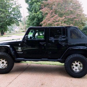 Black JK Unlimited
