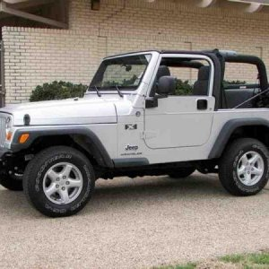 2006 Jeep Wrangler X 4x4 Stock