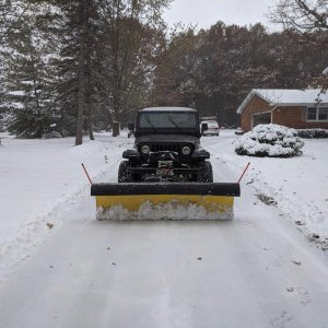 Yj With Snow Plow